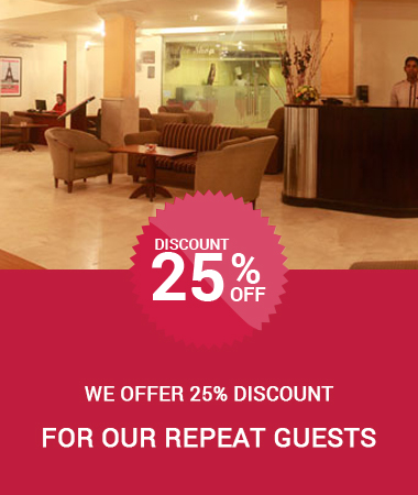 Regular Guests Discount Offer Ramada Katunayake Colombo